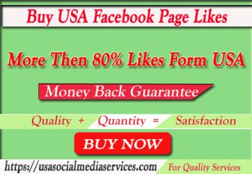 Buy USA Facebook Page Likes